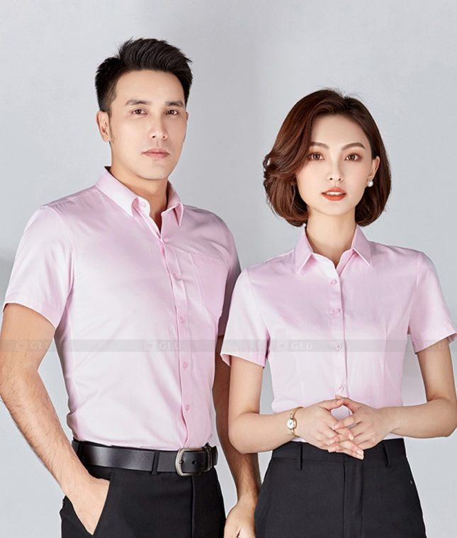 Dong Phuc Cong Ty GLU CT250 đồng phục công ty đẹp
