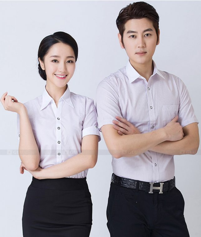 Dong Phuc Cong Ty GLU CT251 đồng phục công ty đẹp