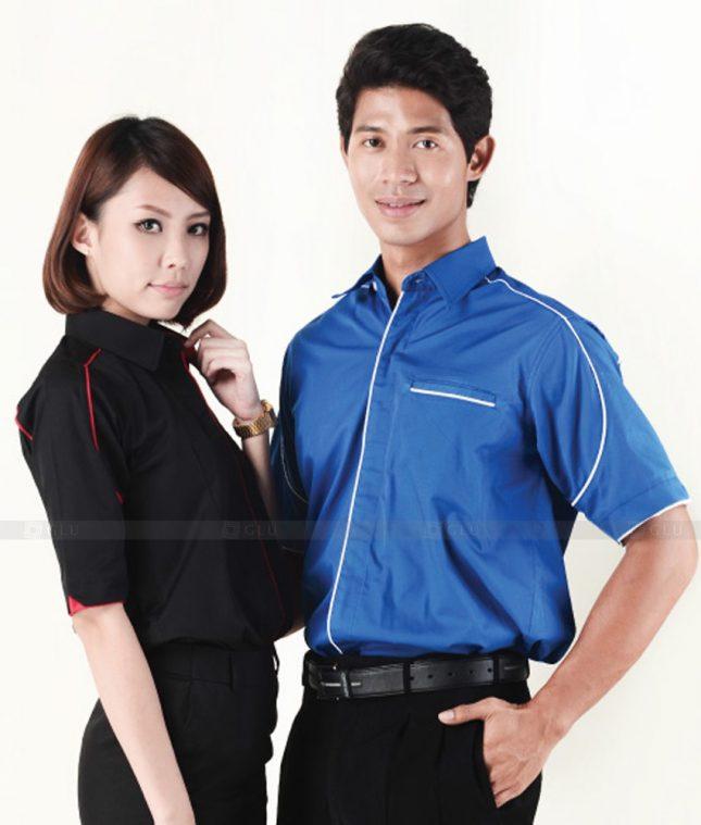Dong Phuc Cong Ty GLU CT26 áo đồng phục công ty