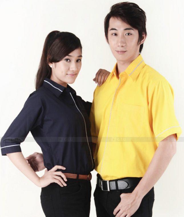 Dong Phuc Cong Ty GLU CT27 áo đồng phục công ty