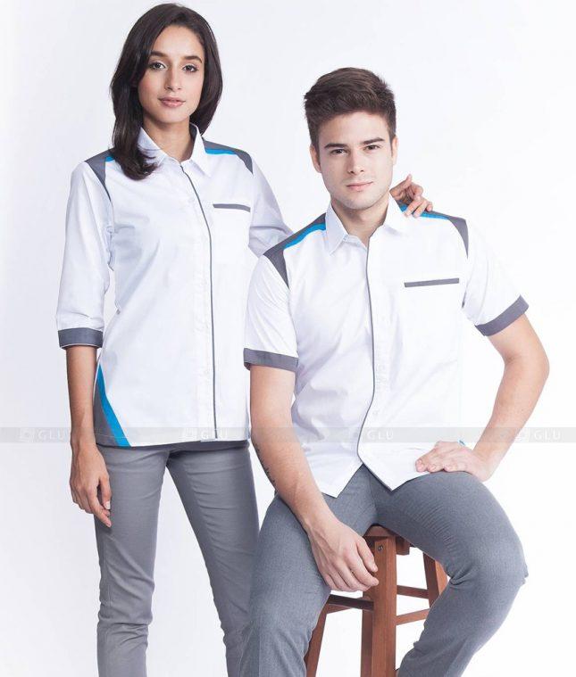 Dong Phuc Cong Ty GLU CT30 áo đồng phục công ty