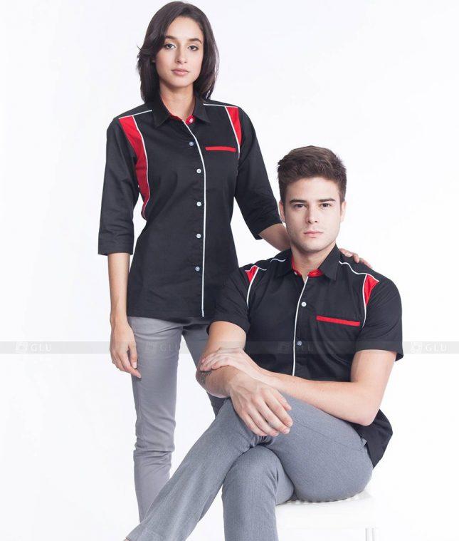 Dong Phuc Cong Ty GLU CT34 áo đồng phục công ty