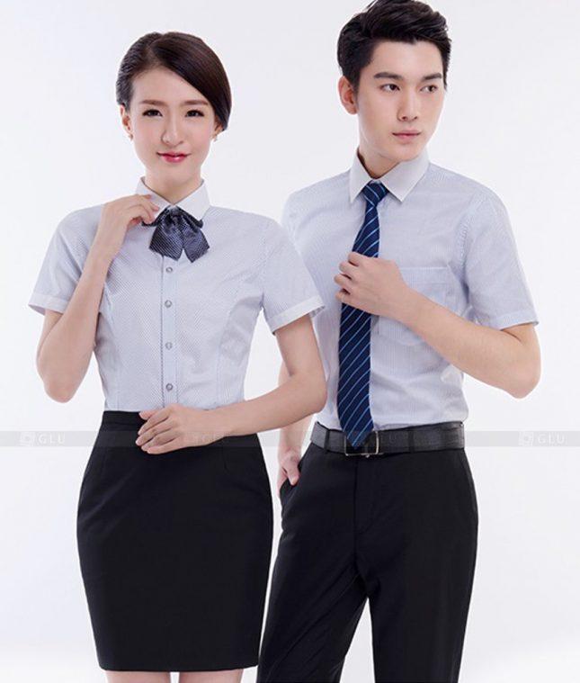 Dong Phuc Cong Ty GLU CT39 áo đồng phục công ty