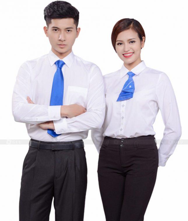 Dong Phuc Cong Ty GLU CT52 đồng phục công ty đẹp