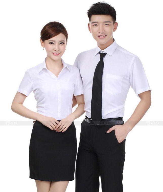 Dong Phuc Cong Ty GLU CT65 đồng phục công ty đẹp