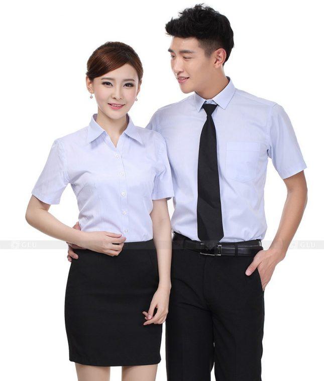 Dong Phuc Cong Ty GLU CT66 đồng phục công ty đẹp