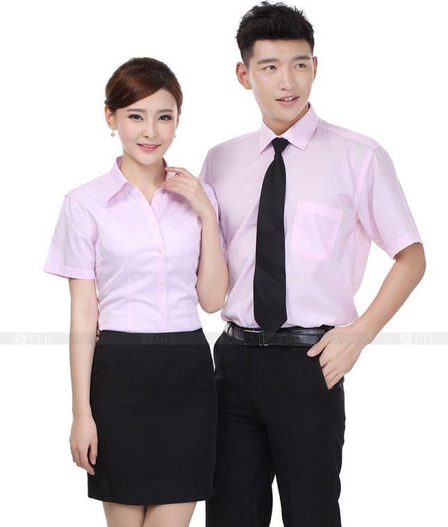 Dong Phuc Cong Ty GLU CT67 đồng phục công ty đẹp