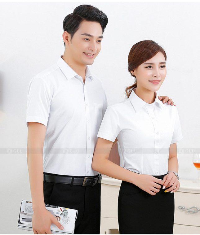 Dong Phuc Cong Ty GLU CT69 đồng phục công ty đẹp