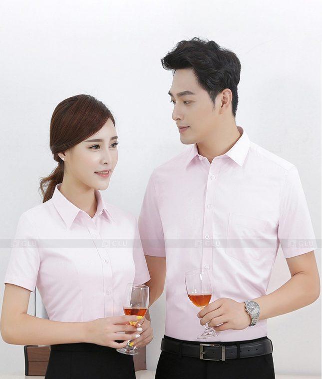 Dong Phuc Cong Ty GLU CT70 đồng phục công ty đẹp