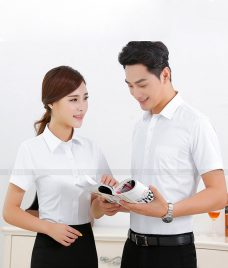 Dong Phuc Cong Ty GLU CT71 may áo sơ mi