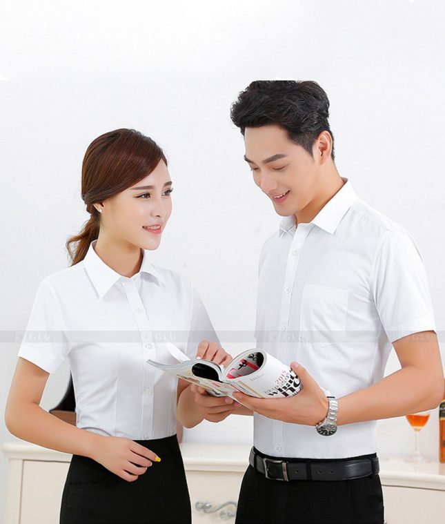 Dong Phuc Cong Ty GLU CT71 đồng phục công ty đẹp
