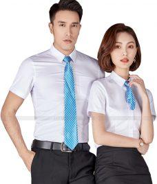 Dong Phuc Cong Ty GLU CT72 may áo sơ mi
