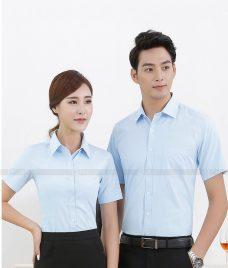 Dong Phuc Cong Ty GLU CT73 may áo sơ mi