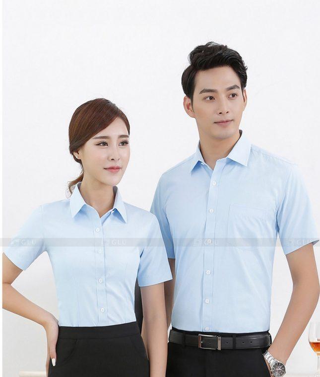 Dong Phuc Cong Ty GLU CT73 đồng phục công ty đẹp
