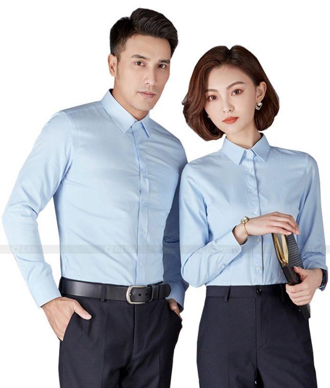 Dong Phuc Cong Ty GLU CT74 đồng phục công ty đẹp