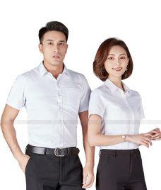 Dong Phuc Cong Ty GLU CT75 may áo sơ mi
