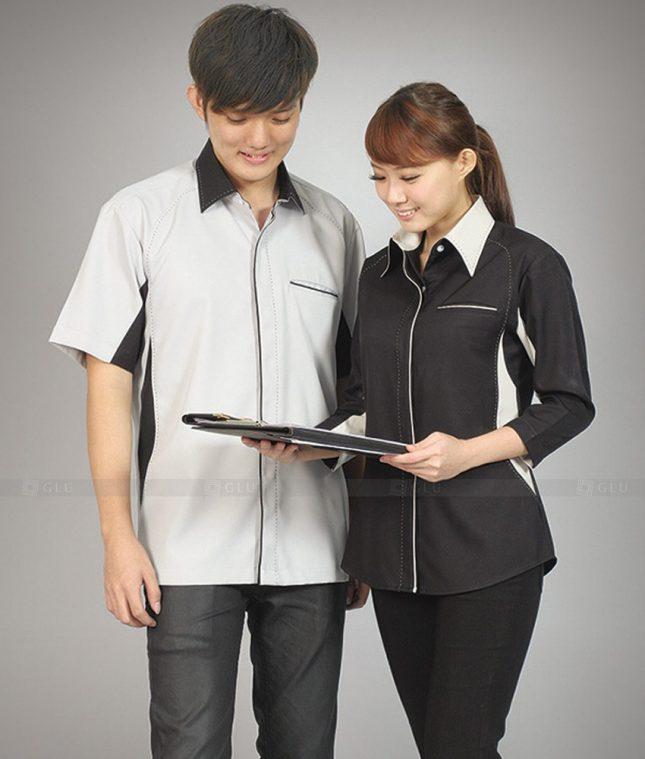 Dong Phuc Cong Ty GLU CT79 đồng phục công ty đẹp