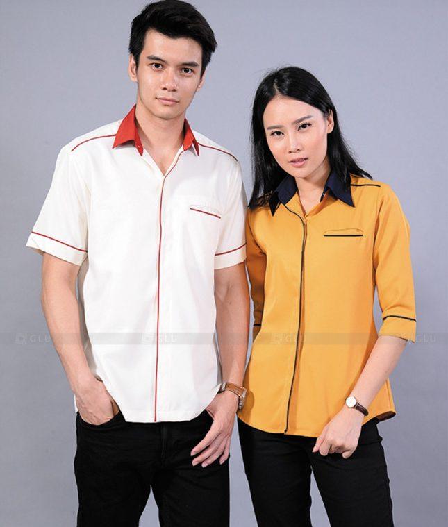 Dong Phuc Cong Ty GLU CT80 đồng phục công ty đẹp