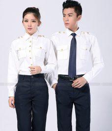 Dong Phuc Cong Ty GLU CT95 áo sơ mi đồng phục