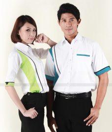 Dong Phuc Cong Ty GLU CT96 áo sơ mi đồng phục
