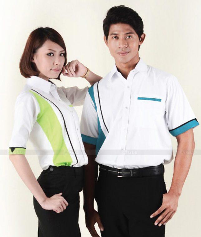 Dong Phuc Cong Ty GLU CT96 đồng phục công ty đẹp