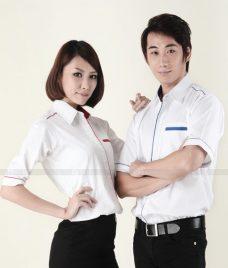 Dong Phuc Cong Ty GLU CT97 áo sơ mi đồng phục