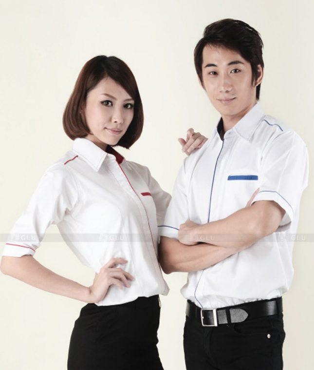 Dong Phuc Cong Ty GLU CT97 đồng phục công ty đẹp
