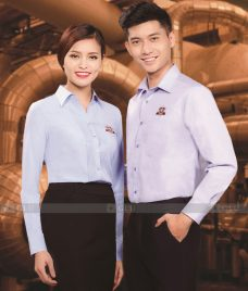 Dong Phuc Van Phong GLU VP163 Đồng Phục Văn Phòng