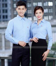 Dong Phuc Van Phong GLU VP165 Đồng Phục Văn Phòng