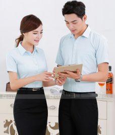 Dong Phuc Van Phong GLU VP187 Đồng Phục Văn Phòng