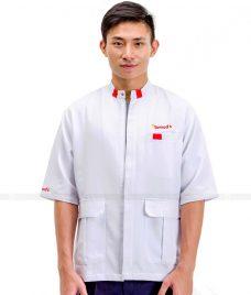 Dong Phuc Dau Bep GLU DB08 đồng phục đầu bếp