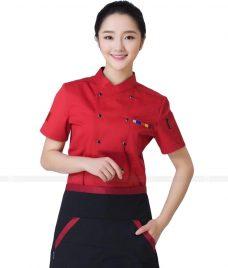 Dong Phuc Dau Bep GLU DB103 đồng phục đầu bếp