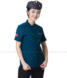 Dong Phuc Dau Bep GLU DB115 đồng phục đầu bếp