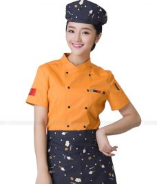 Dong Phuc Dau Bep GLU DB118 đồng phục đầu bếp