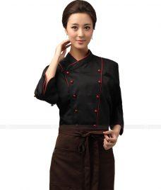 Dong Phuc Dau Bep GLU DB12 đồng phục đầu bếp