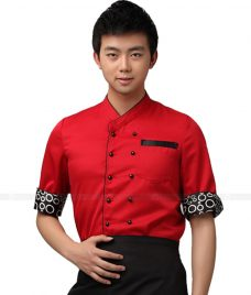 Dong Phuc Dau Bep GLU DB13 đồng phục đầu bếp