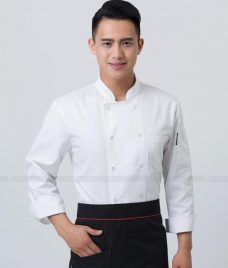 Dong Phuc Dau Bep GLU DB136 Đồng Phục Đầu Bếp