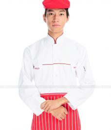 Dong Phuc Dau Bep GLU DB15 Đồng Phục Đầu Bếp