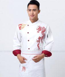 Dong Phuc Dau Bep GLU DB154 Đồng Phục Đầu Bếp