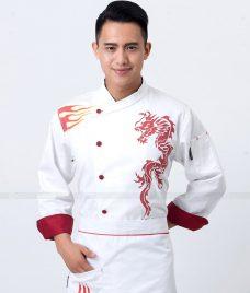Dong Phuc Dau Bep GLU DB156 Đồng Phục Đầu Bếp