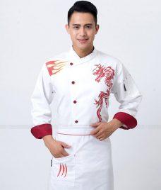 Dong Phuc Dau Bep GLU DB157 Đồng Phục Đầu Bếp