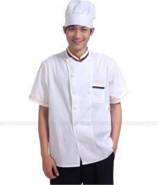 Dong Phuc Dau Bep GLU DB16 đồng phục đầu bếp