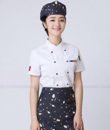 Dong Phuc Dau Bep GLU DB160 Đồng Phục Đầu Bếp