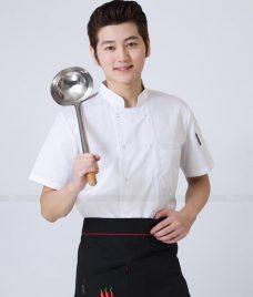 Dong Phuc Dau Bep GLU DB162 đồng phục đầu bếp