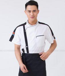 Dong Phuc Dau Bep GLU DB164 đồng phục đầu bếp