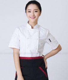 Dong Phuc Dau Bep GLU DB166 đồng phục đầu bếp