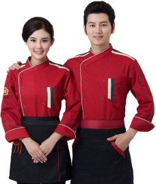 Dong Phuc Dau Bep GLU DB167 đồng phục đầu bếp