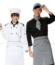 Dong Phuc Dau Bep GLU DB168 đồng phục đầu bếp