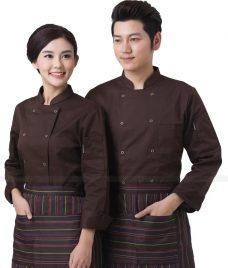 Dong Phuc Dau Bep GLU DB169 đồng phục đầu bếp