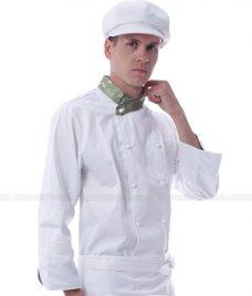 Dong Phuc Dau Bep GLU DB17 đồng phục đầu bếp